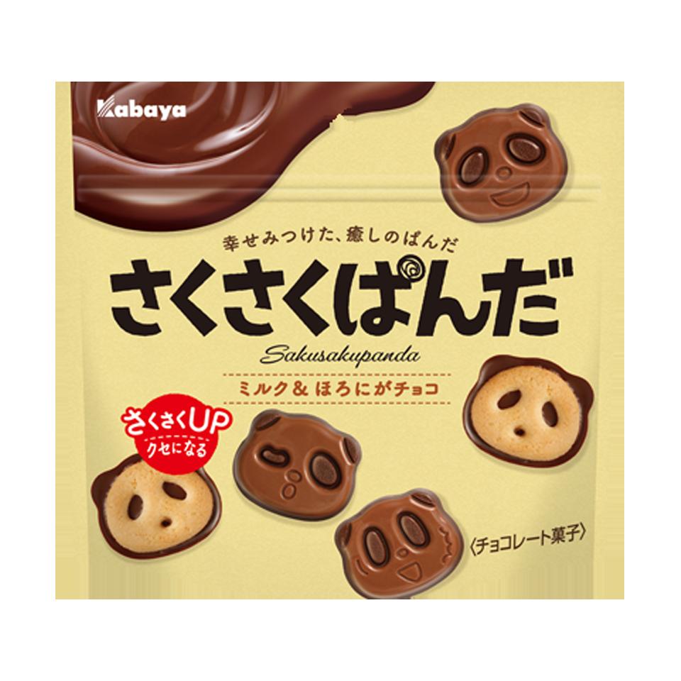 Saku Saku Panda cookie package