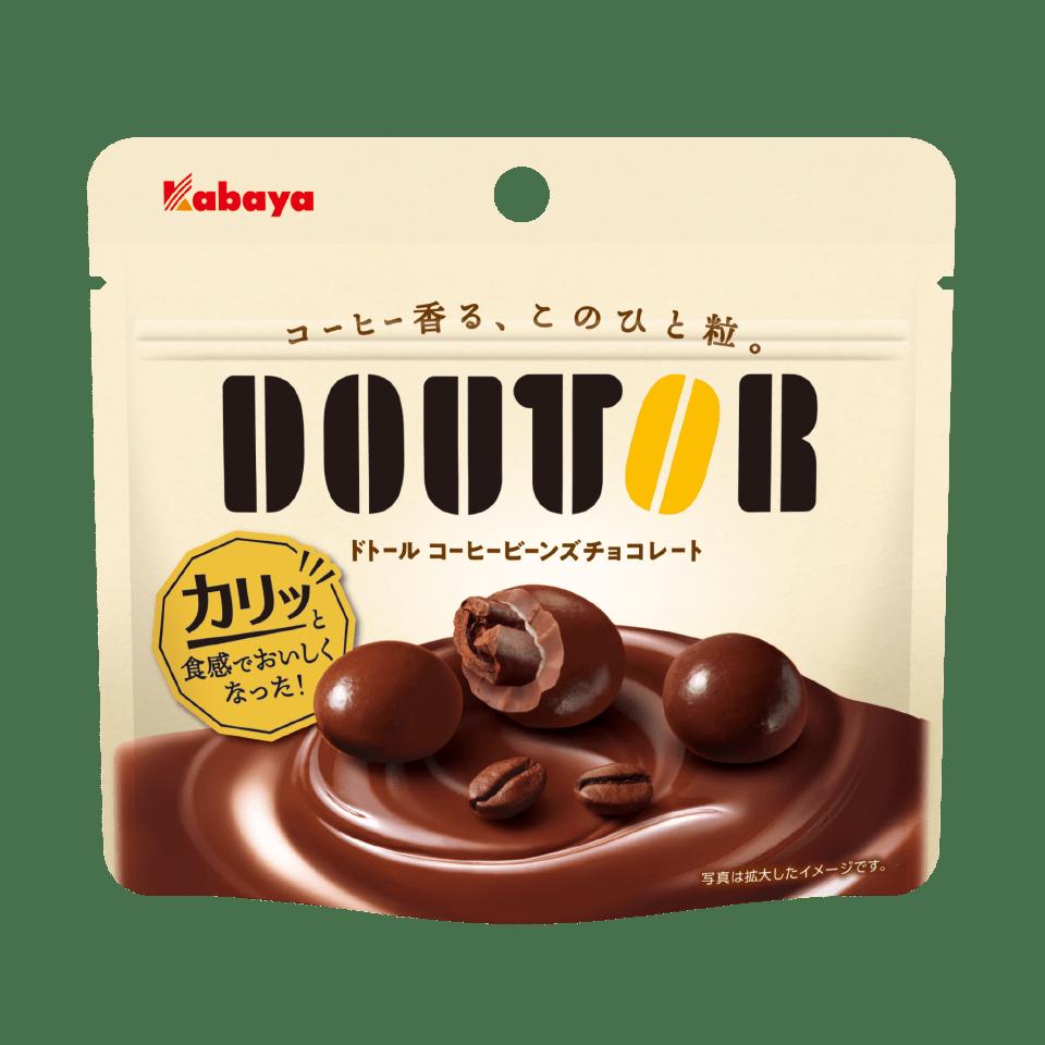 Doutor coffee beans chocolate